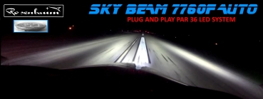 Sky-Beam SU-7730 Auto Ultra Performance , PAR 36  LED Lande und Roll- Licht Landing and Taxi Light System14 Volt und 28 Volt